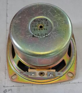 SPEAKER 4 OHM 2.5W SHIELDED 8X8X5CM SANYO